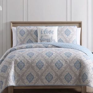 King 4 pc quilt set